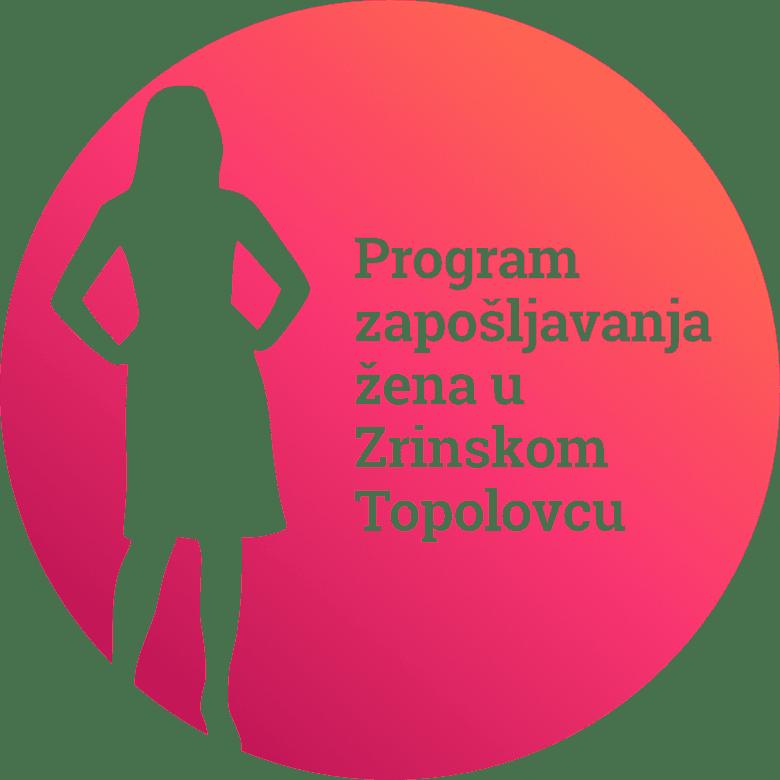 Program zaposljavanja zena u Zrinskom Topolovcu - logo - RGB